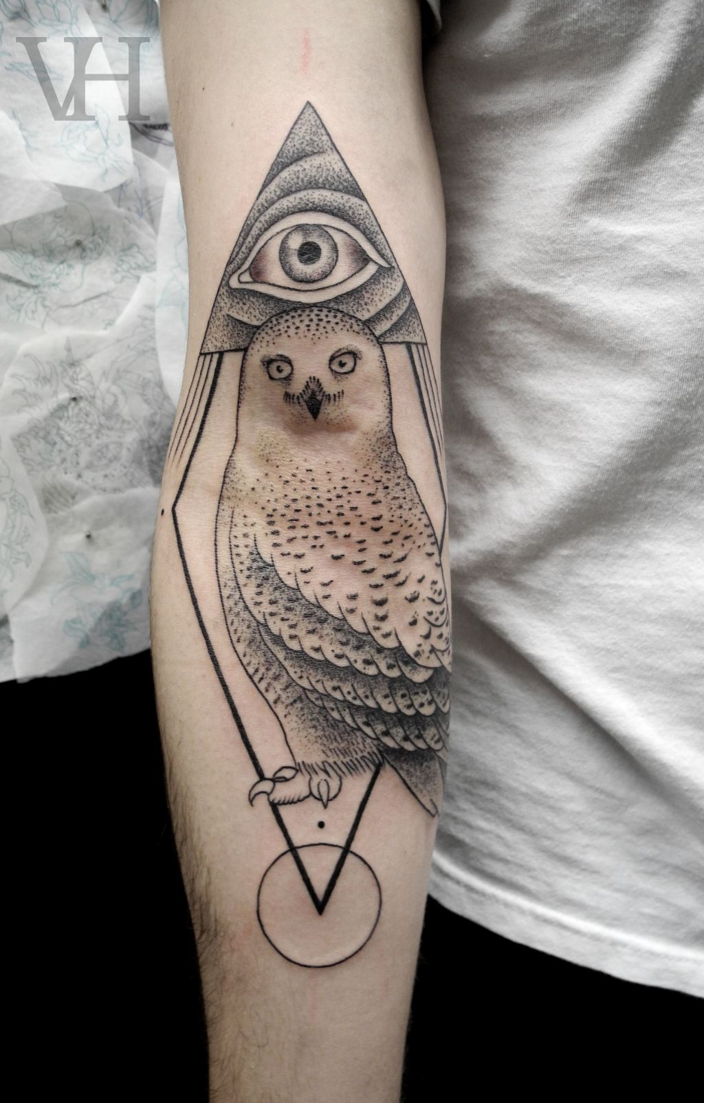Tattoo Ideas, Valentine Hirsch, Ass Tattoo, Owls Tattoo